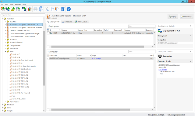 PDQ Deploy and Inventory for Autodesk and other applications